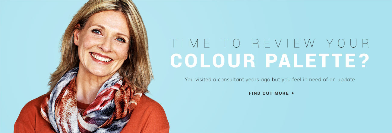 Time to review your colour palette?